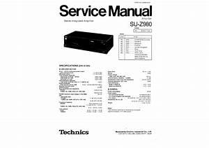 Technics Su-z980