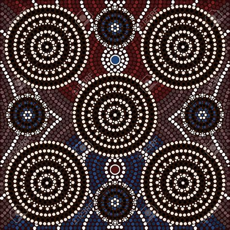 dot painting templates aboriginal aboriginal pictures free premium templates