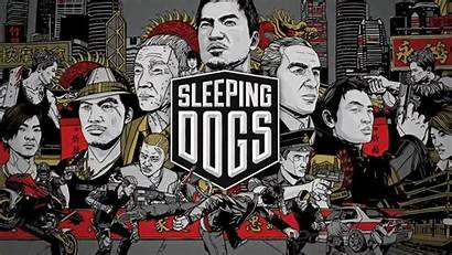 Sleeping Dogs Wallpapers Pc Square Ps3 Enix
