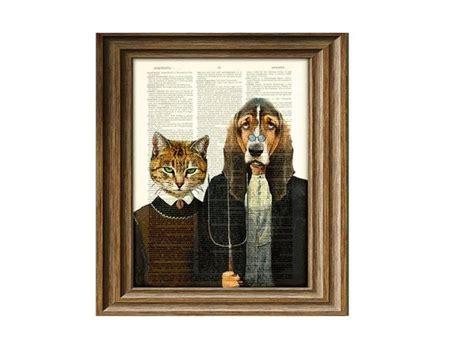 le de wood peinture le tableau d apparat transforme l animal en humain galerie photos d article 4 15