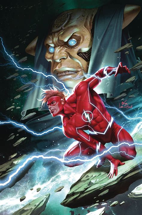FLASH FORWARD #3 (OF 6) VARIANT COVER