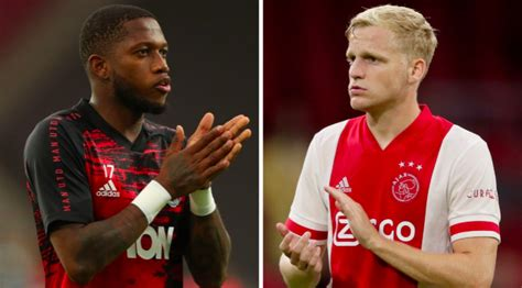 Fred plays down Manchester United exit rumours after Donny ...