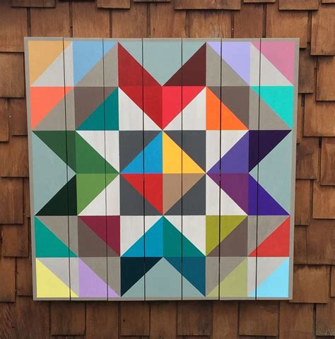 Barn Quilts Patterns Painting by White Barn Quilt Barn Quilts Barn