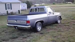 1986 Chevy Silverado C10 Shortbed Truck