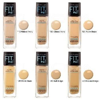 Harga Makeup Merek Maybelline review harga maybelline fit me foundation matte