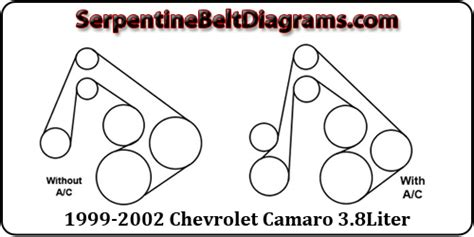 chevrolet camaro belt diagram