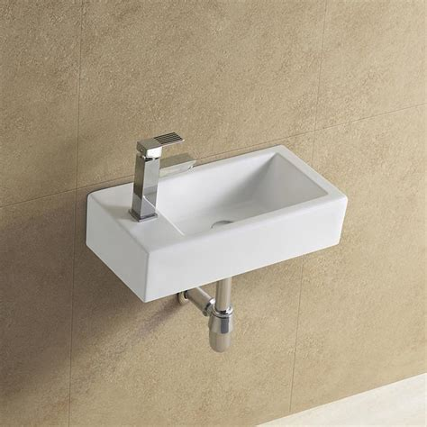 narrow wall mount sink rectangular wall mounted narrow sink view narrow sink