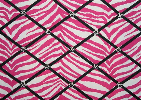 Pink And Black Zebra Print 2 Free Hd Wallpaper