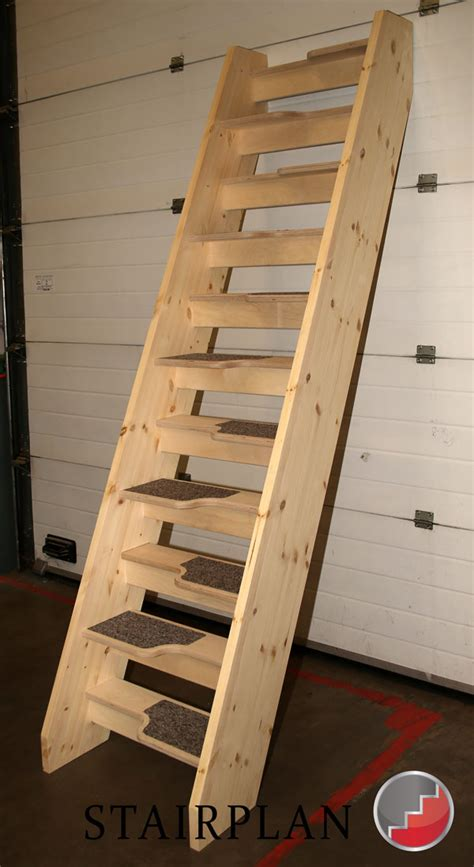 Spacesaver Staircases by New Birch 24 Openplan Loft Staircase