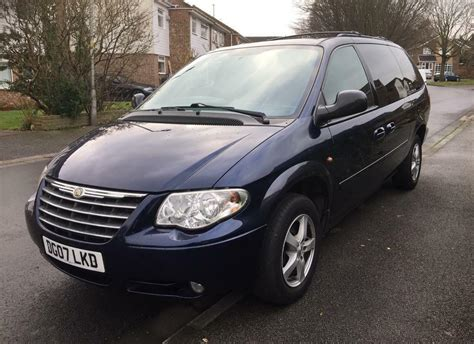 Chrysler 7 Seater by 7 Seater Chrysler Grand Voyager Auto Executive Crd A