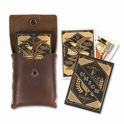 Playing Case Card Leather Prestige Cards