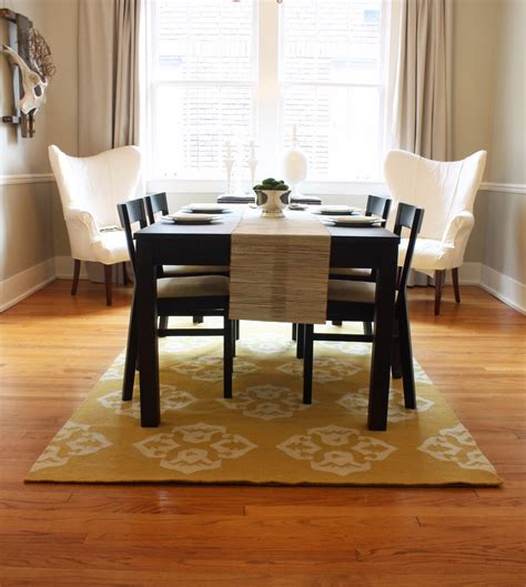 rug dining room table pretty dining room rugs interior design and decor traba