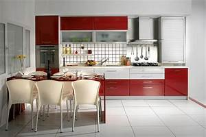 red and white kitchen cabinets home furniture design With red and white kitchen cabinets
