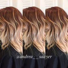 ombre hair styles strawberry ombre hair 8320