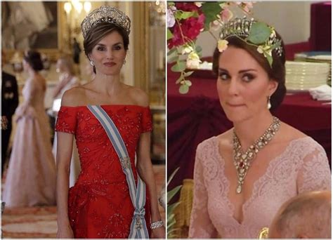 Kate Middleton Wears Diana Tiara With Daring Neckline