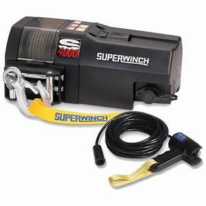 Superwinch U00ae S4000 4 000-lb  Trailer Winch
