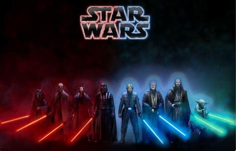 Star Wars The Light Side star wars dark side light side wallpaper by