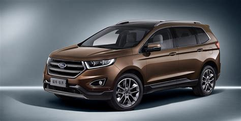 ford edge 2018 2018 ford edge australian pricing and details revealed
