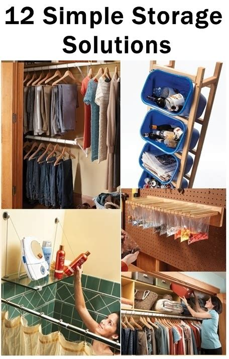 simple storage solutions diy craft projects