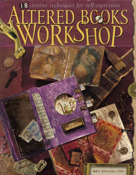 inspire  altered books workshop