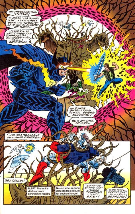 Octessence vs Shuma-Gorath - Battles - Comic Vine