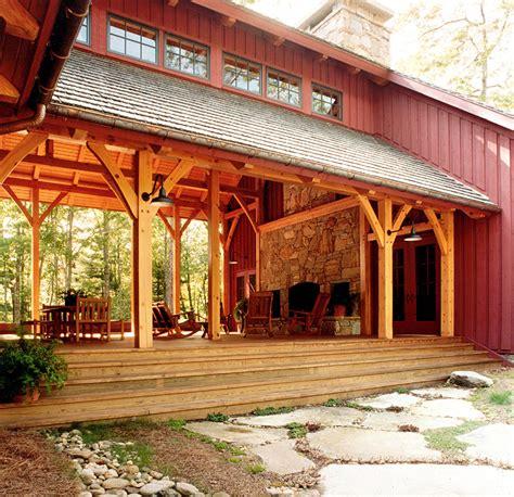 big timberframe dogtrot platt architecture pa platt architecture pa