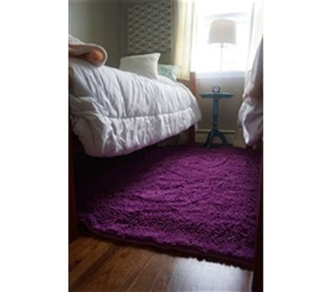 Chenille Area Rug (4' X 6')  Radiant Orchid  Cheap Dorm