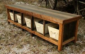 Rustic Entryway Table And Bench Set — STABBEDINBACK Foyer