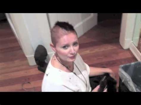 glatze schneiden bei chemotherapie youtube