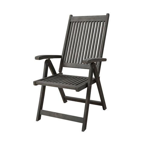 vifah renaissance reclining wood outdoor dining chair