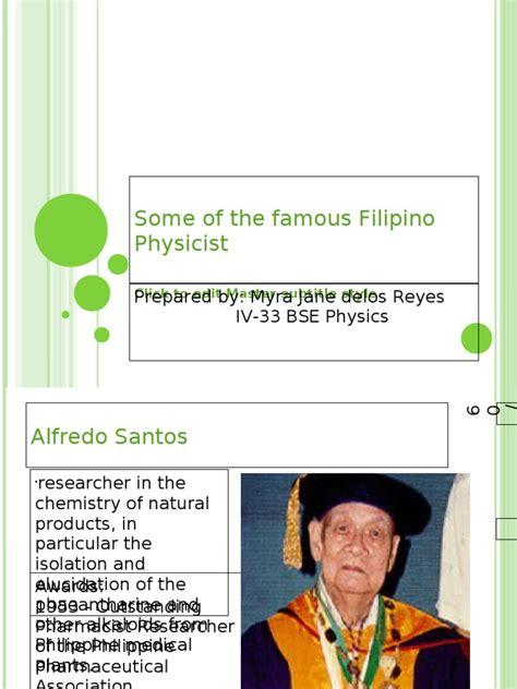 famous filipino physicist