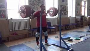 Klokov Dmitry - Squat 225x5 Training 29 06 2013