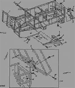 Frame Chassis Rahmen Telaio Bastidor Ram  E03  - Amt John Deere Amt 622 - Amt