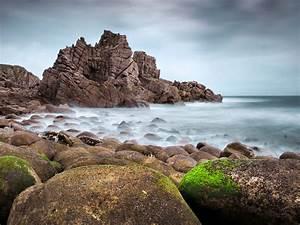 Rocky, Beach, Wide, Wallpaper, 516047, Wallpapers13, Com