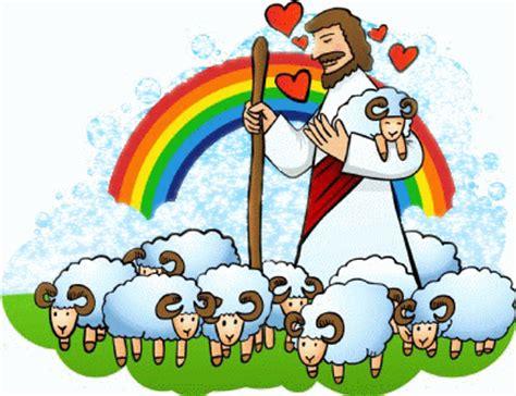 Jesus as the Good Shepherd Clip Art