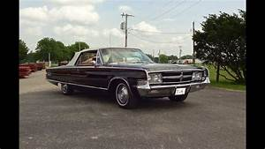 1965 Chrysler 300 L Convertible In Black Paint  U0026 Engine