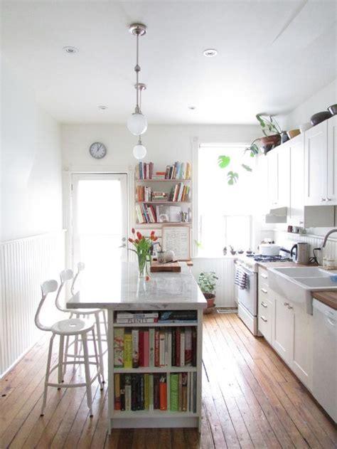 The 25  best Narrow kitchen island ideas on Pinterest