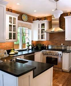 Modern, Brick, Backsplash, Kitchen, Ideas