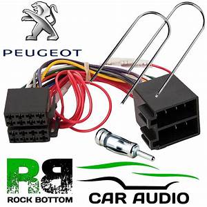 Peugeot 206 2001 Onwards Car Stereo Radio Iso Harness Lead Adaptor Kit Pc2