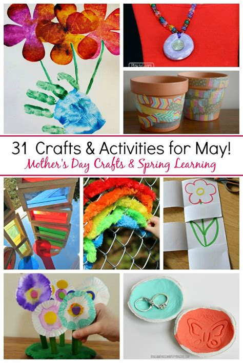 31 may crafts amp activities for where imagination grows 478 | 31 may crafts mothers day spring preschool Collage