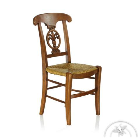chaises anciennes chaise ancienne bois et paille palmette saulaie