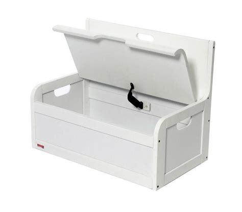 banc coffre de rangement blanc tabouret coffre salle de bain valdiz