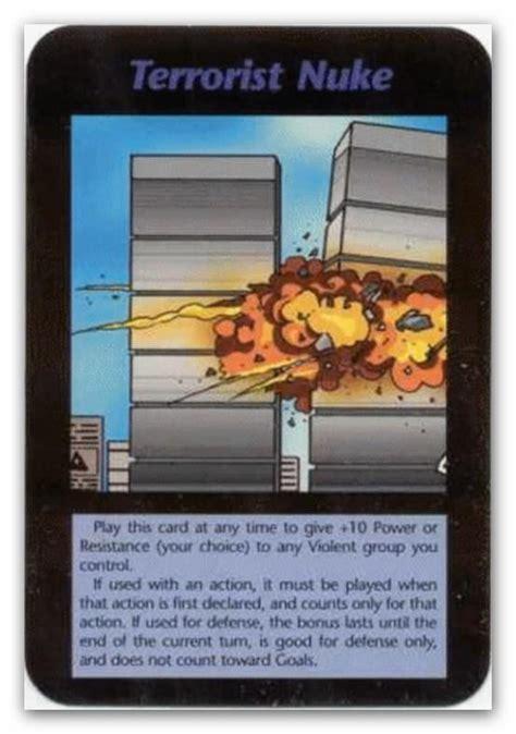 Illuminati Towers Illuminati Cards Terrorist Nuke Towers By