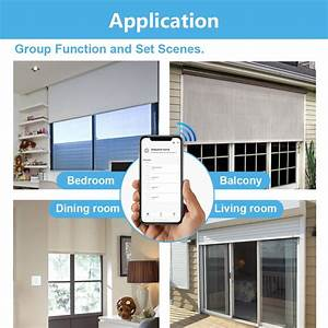 Smart Home Rf Wifi Curtain Switch With Remote For Electric