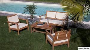 Salon De Jardin Acacia : salons de jardin en robinier acacia comptoir des bois ~ Teatrodelosmanantiales.com Idées de Décoration