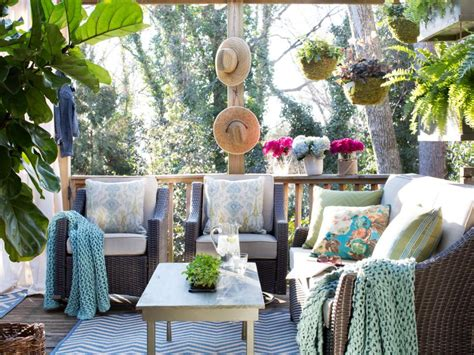 cheerful summer terrace designs