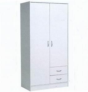 Ikea Armoire Blanche : rmoire blanche 2 portes secret de chambre ~ Teatrodelosmanantiales.com Idées de Décoration