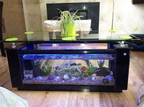 contoh model  harga meja tamu aquarium unik