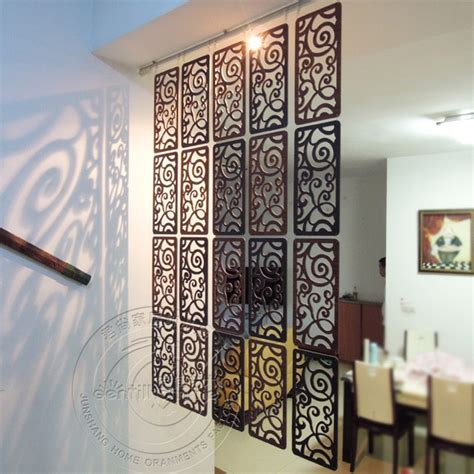 cm carved screen room hanging screen partition wall