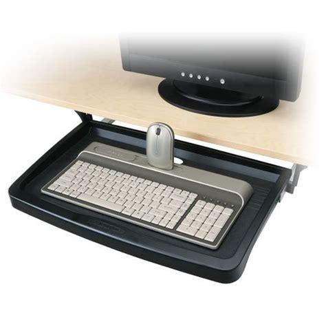adjustable keyboard tray for desk adjustable underdesk sliding keyboard drawer arm desk tray